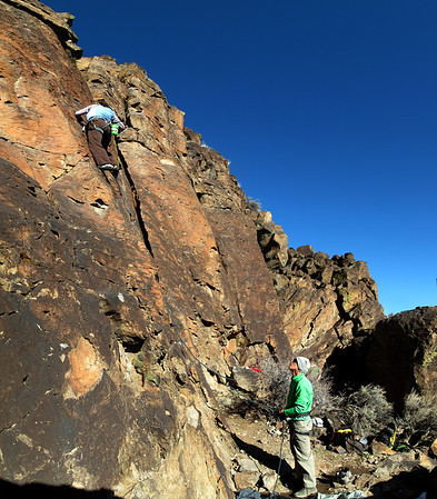 Climbing Jan 2012