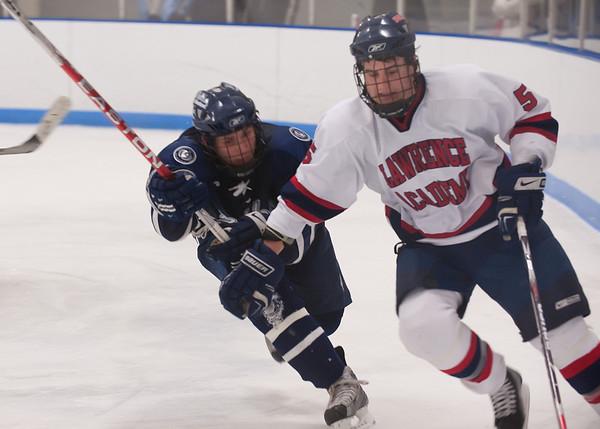 1/14/2009 - Nobles Boys Varsity Hockey vs Lawrence