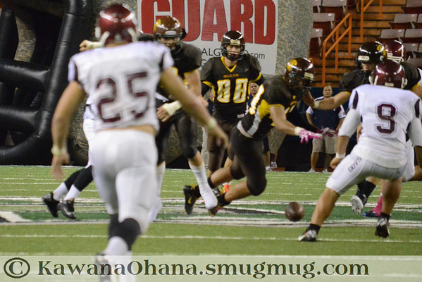 VFB Mililani vs Farrington 2nd Half 2012