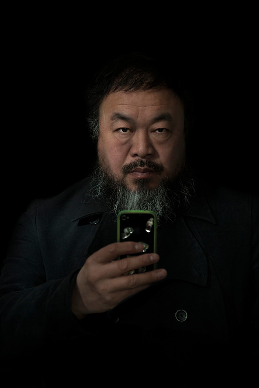 . World Press Photo 2nd prize Prize People in Staged Portraits Single by Stefen Chow, Malaysia, for Smithsonian magazine, shows a portrait of Ai Wei Wei, Beijing, China, Feb. 6, 2012. (AP Photo/Stefen Chow, Smithsonian magazine)