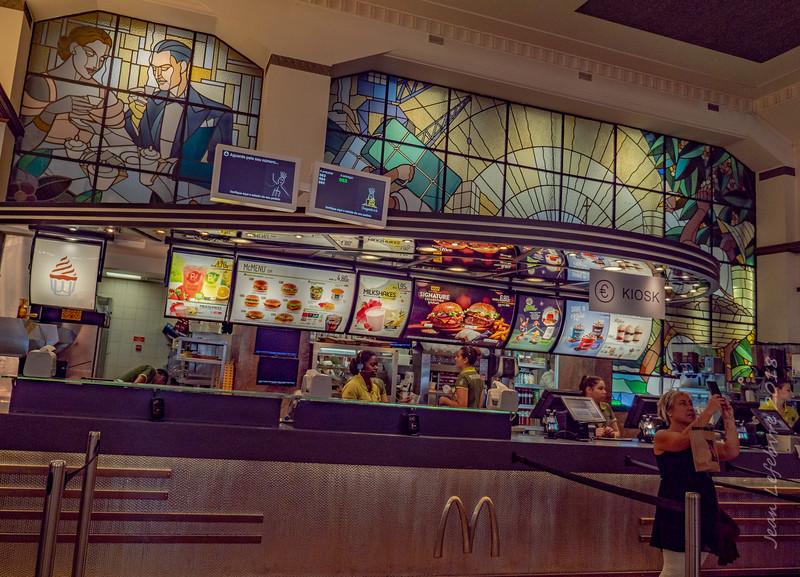 Artsy McDonald's in Porto