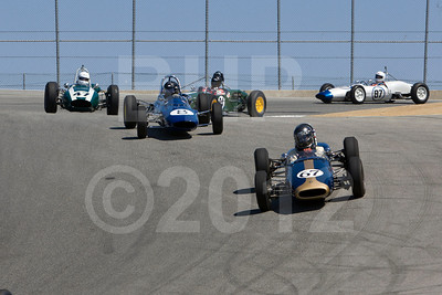 2012 Monterey Pre-Reunion Saturday Group 4 1958-1963 Formula Junior Cars