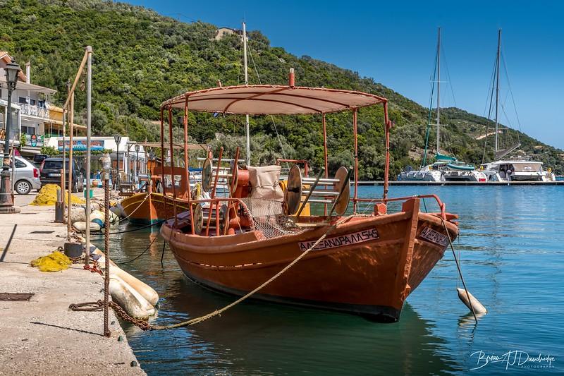 Fishing-boat in Sivota, Lefkada