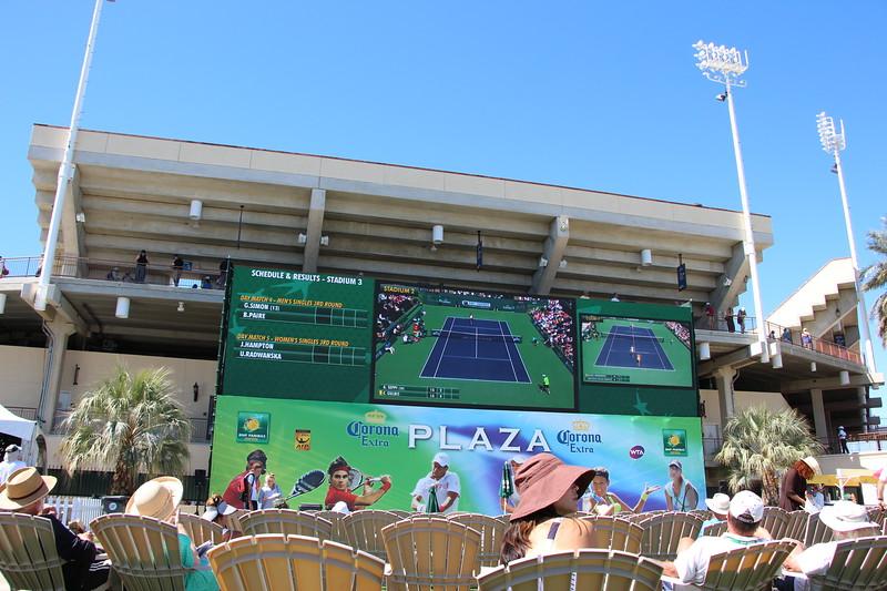 Indian Wells Big Screens