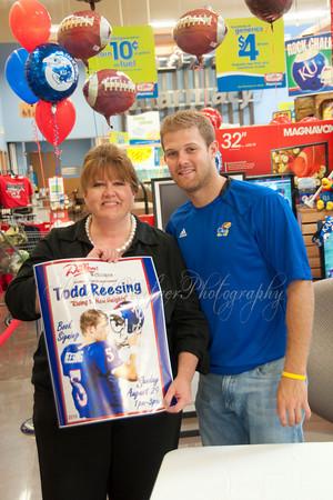 KU Quarterback Todd Reesing Booksigning
