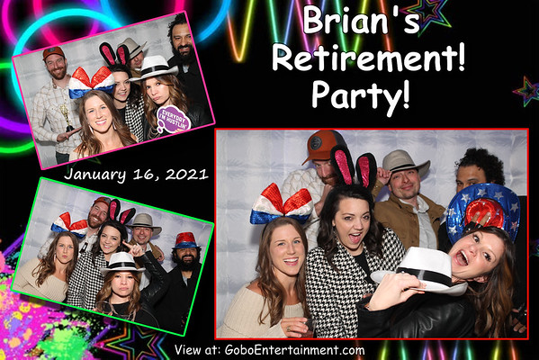 20210116 Brian's Goodbye Mighty Fine Party!