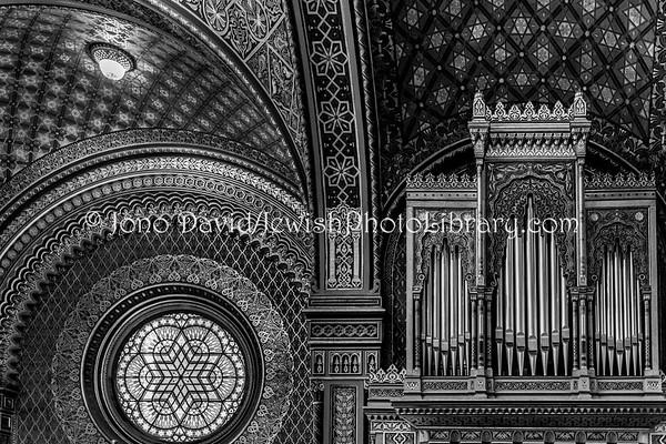 CZECH REPUBLIC, Prague. Spanish Synagogue (3.2019)
