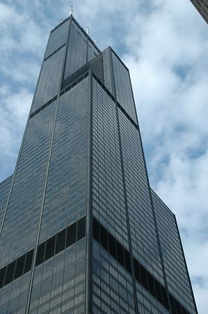 Sears Tower, July 11, 2008: Matt, Luc & I
