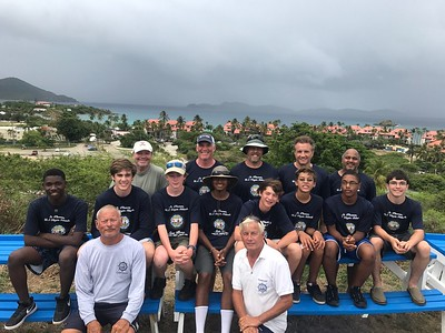 Troop 631 Sails at Sea Base St. Thomas (June 2017)