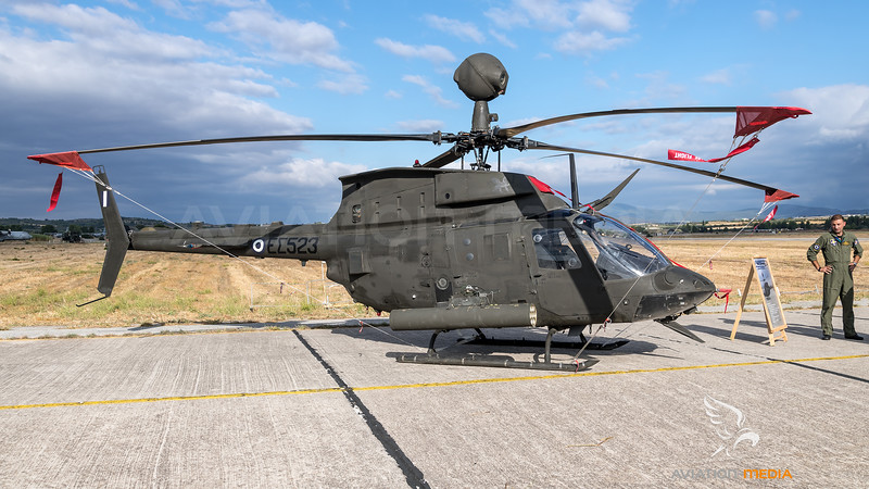 Hellenic Army Aviation / Bell OH-58D Kiowa / ES523
