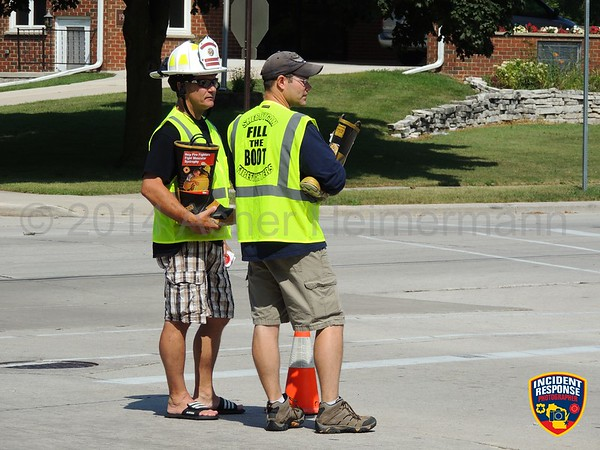 MDA Fill The Boot on August 22, 2014