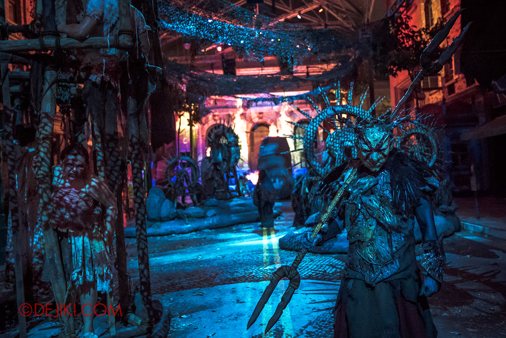 Halloween Horror Nights 7 Review - Pilgrimage of Sin overview