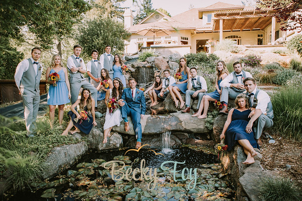 Kailey & Kyle : Bridal Party & Family Portraits : 4.29.17
