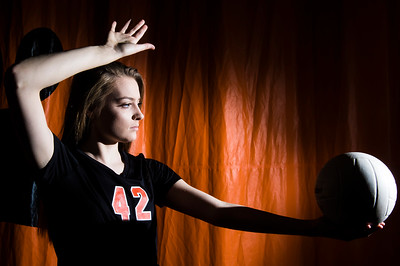 Volleyball Player of the Year Megan Kelly