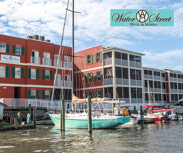 Water Street Hotel and Marina Poster
