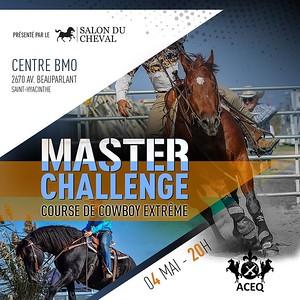 CENTRE BMO COMPÉTITIONS MASTER CHALLENGE COURSE DE COWBOY EXTRÊME