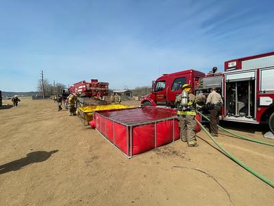 04-05-21 Three Rivers FD - Scrap Yard Fire