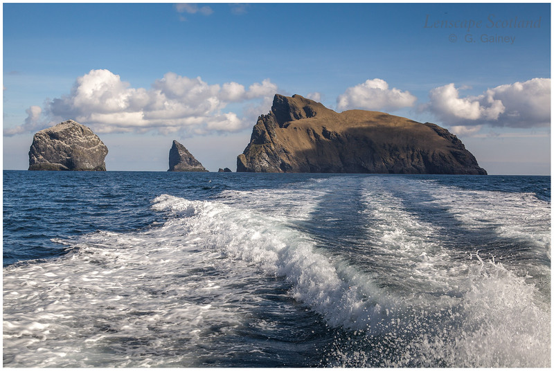 Remote St. Kilda - outlying islands and stacks