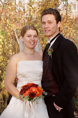 Jennifer/Clay Wedding Oct 28 2006