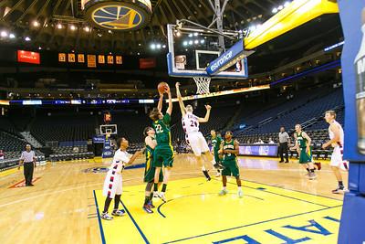 RCS Boys' Basketball @ Oracle Arena - Jan 28, 2014