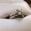 0.78ct Round Brilliant Diamond Bridal Set by Cartier 55