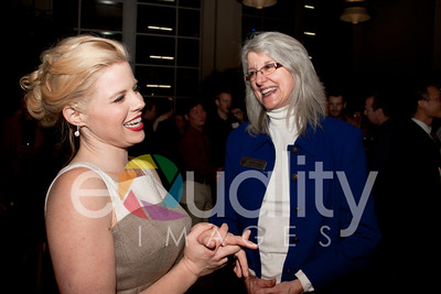 2011 Reception with Megan Hilty