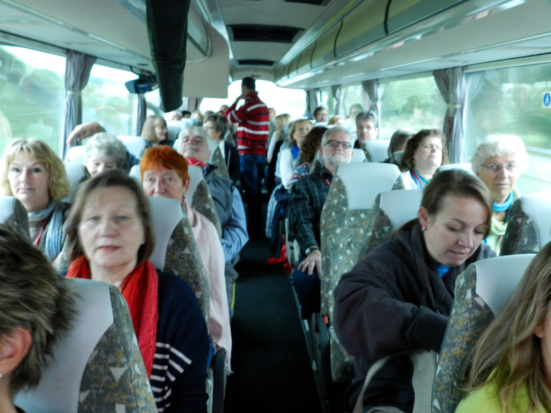 On the way to Carnac