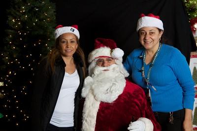 Sam's Club Santa Visit