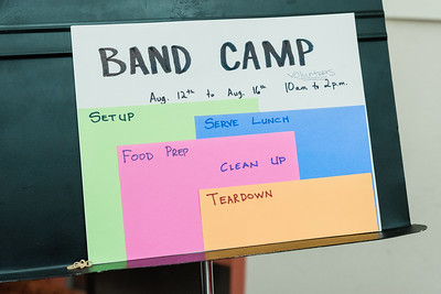 Pep Band: Band Camp Registration Open House