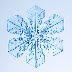 Alaska Snowflake Photos: Winter 2005-2006