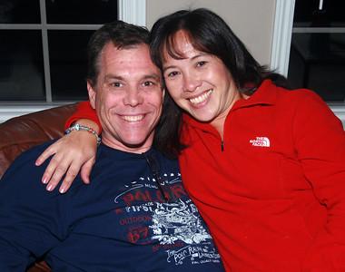 Dan and Rowena Come to America 2010