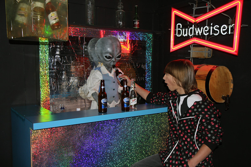 Had a few with the aliens in Roswell along the way.....was New Years after all!