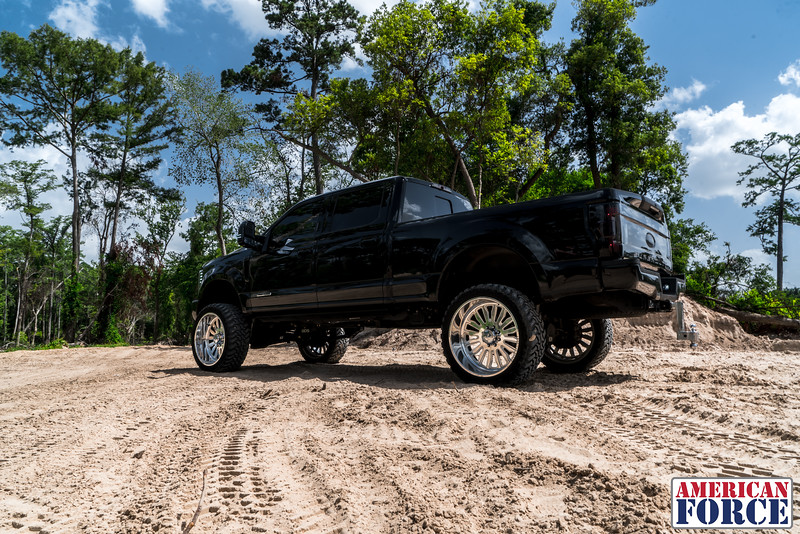 011-@devito82 2018 Black Ford F250 26 Polished ATOM 37 Dakar Tires-20180610.jpg