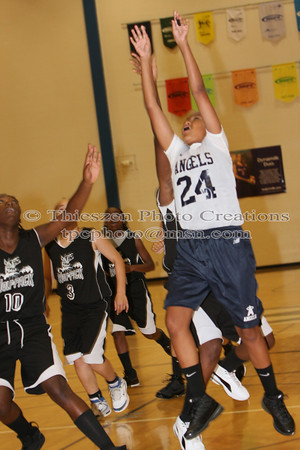 Delaware Angels VS MD Lady WolfPack