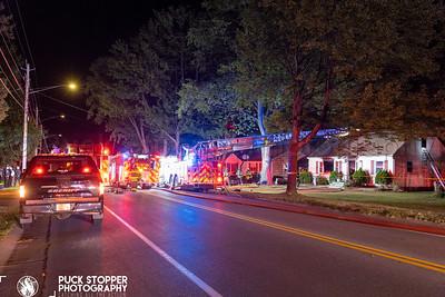 House Fire - 1547 Stone Rd, Ridge Road, Greece, NY - 6/16/21