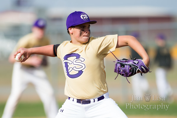 CCS 8th/9th Grade Baseball vs Crossings, March 22