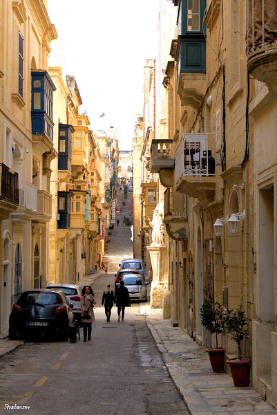 Valletta, Malta.     St. Ursula Street      03/23/2019