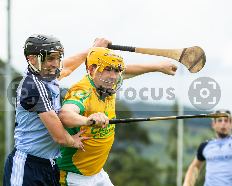 Nenagh Eire Og's Hugn Moloney and Toomevara's David Young