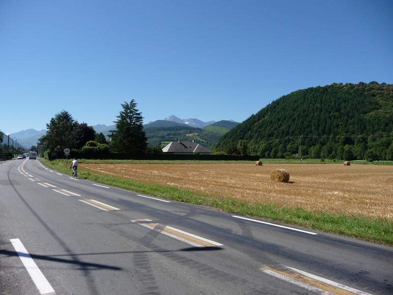 It's the biggest peak around. Location - outside Bagneres de Bigorre