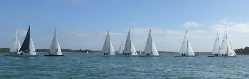 August Keelboat & Dinghy Week. Photos Tony Glover. eMW.