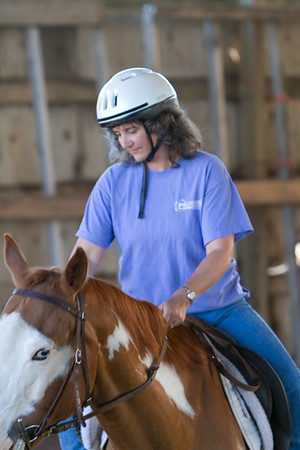 20100803 Sophie & Susan Horseback Riding