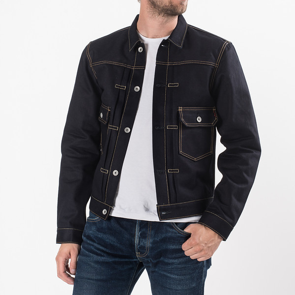 Indigo-Indigo 18oz Raw Selvedge Denim Type ll Jacket-27122.jpg