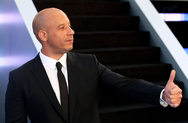 . Actor Vin Diesel attends the World Premiere of \'Fast & Furious 6\' at Empire Leicester Square on May 7, 2013 in London, England.  (Photo by Tim P. Whitby/Getty Images)