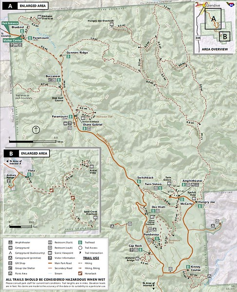 Makoshika State Park (Trail Map)