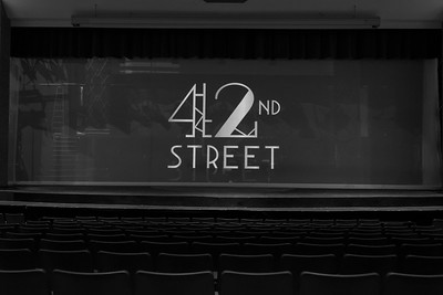NNHS Drama-42nd Street-B&W (April-2018)