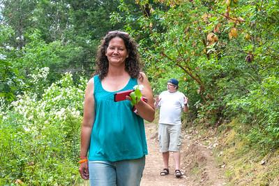 Hike behind Britt #2