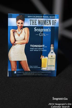 SEAGRAM'S CALENDAR SEARCH 2014 | CLUB BLEU | DETROIT, MI