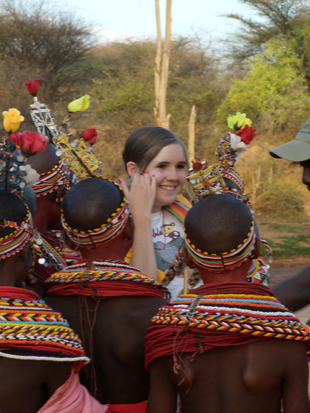 Aiudrey with Samburu Girls at Goat Ceremony EMC 164.jpg