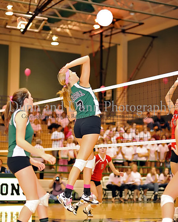 2008-09-30 - Southlake Carroll v Marcus - Volleyball - Pink Out