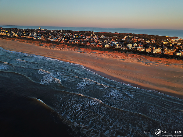 March 9, 2021, Sunrise Aerial Photography, Avon, NC